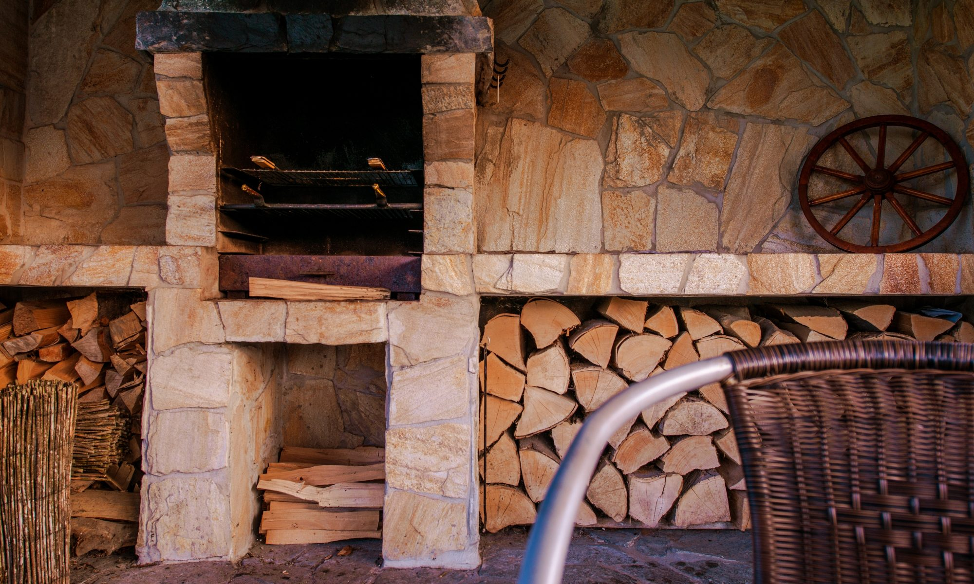 Barbecue en pierre naturelle