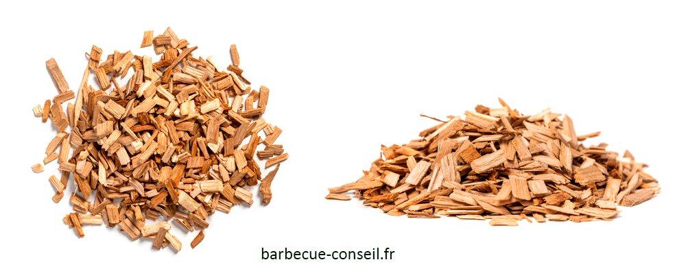 Copeaux de bois de fumage