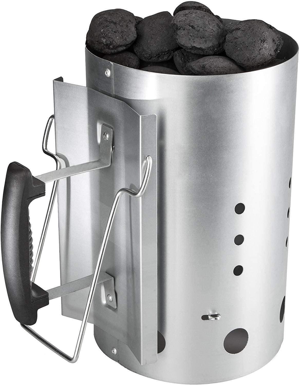 Cheminée d'allumage Bruzzzler pour allumer le feu charbon pour un barbecue