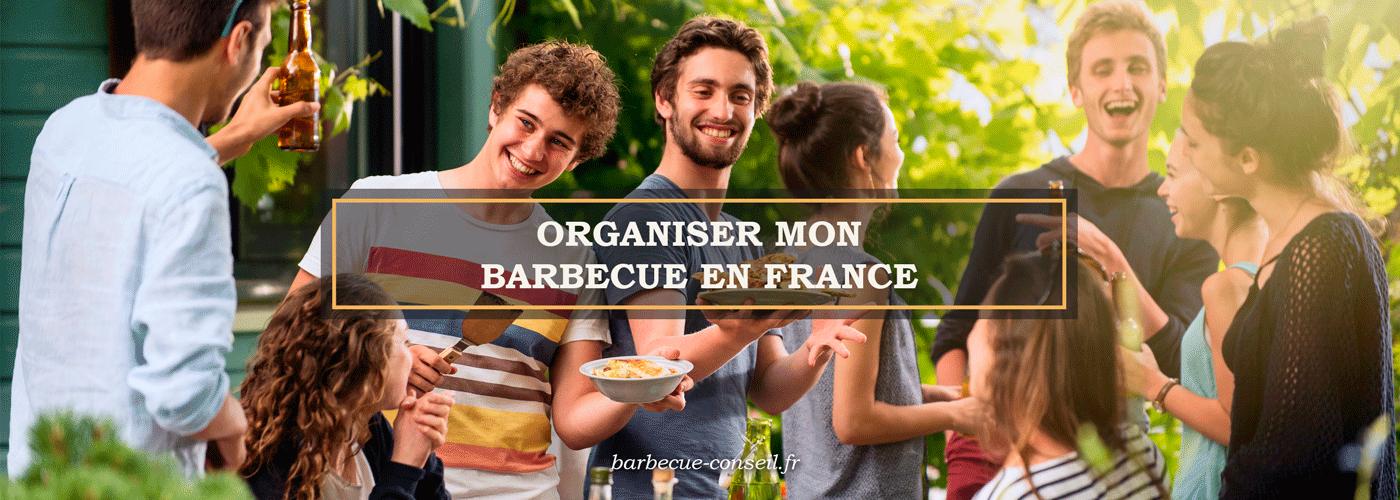 Où organiser mon barbecue en France