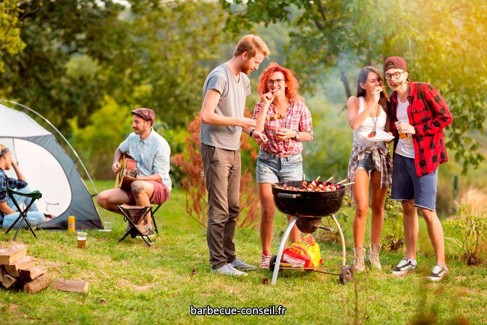 Quelles réglementations pour un barbecue de camping ?