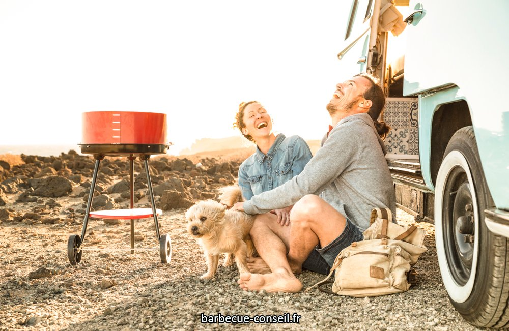 Un barbecue pour camping-car ou caravane