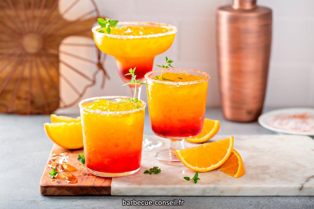Un tequila sunrise