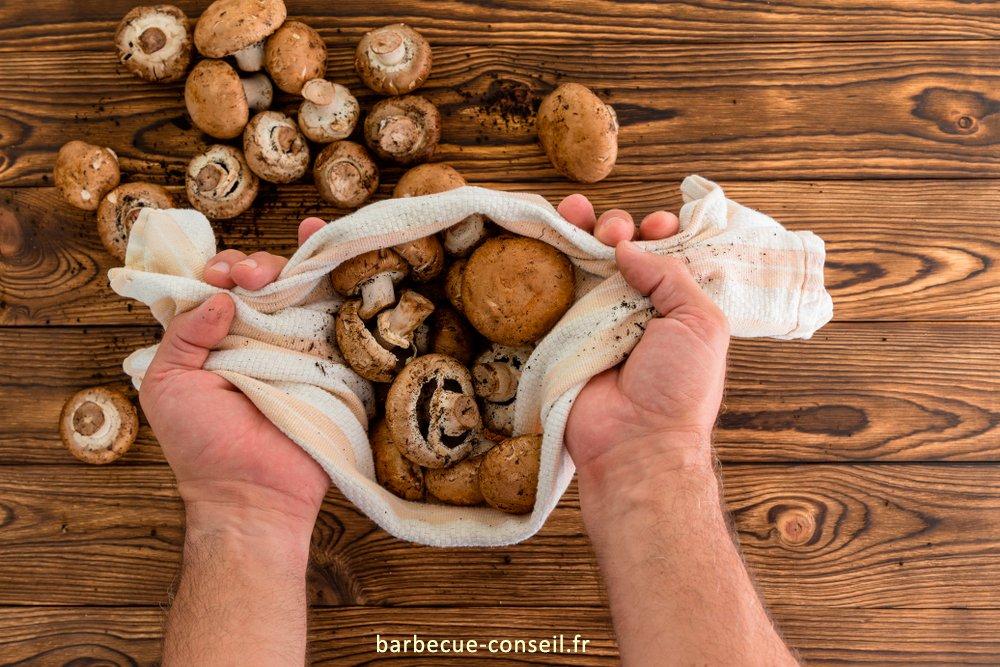 faire un bon mélange avec des champignons