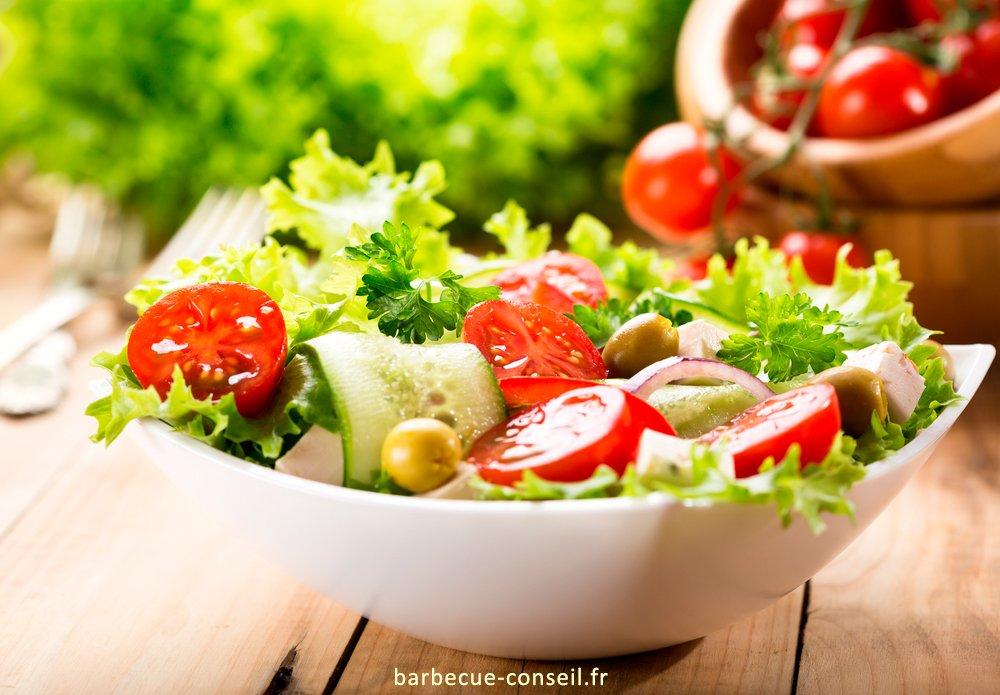 rien n'est plus sain qu'une bonne salade.
